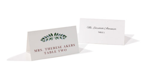 Place Cards Mingo Press Printing Wedding Invites